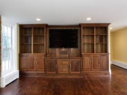 Living Room Cabinets by Home Design Missionshaker Houzz Built In Living Room Cabinets