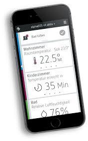 Wohnzimmer Temperatur Alphaeos Eine App Mit Der Sie Ihr Zuhause Steuern