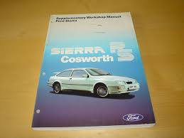 ford sierra rs cosworth workshop manual owner u0027s repair hand