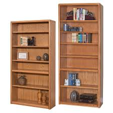 Wood Bookshelves by Martin Home Furnishings Contemporary Wood Bookcase Series Oak