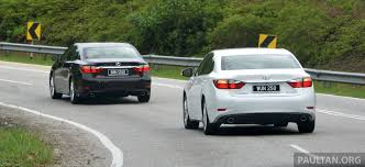 lexus sedan malaysia malaysian review 2013 lexus es250 and es300h sampled clublexus