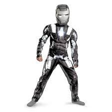 Iron Man Halloween Costume Toddler Iron Man 2 2010 Movie War Machine Classic Muscle Child Costume