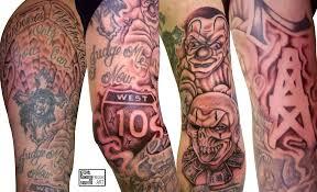 gangster art tattoos
