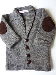knitting a baby sweater is the way to learn all the