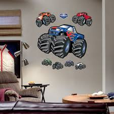 trucks kids oversized wall graphics kids decorating ideas