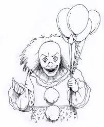 evil clown drawings google search tattoos pinterest evil