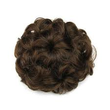 hair bun accessories women girl wave curly clip in hair bun cover wig hair bun