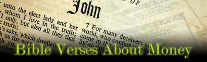 8 important bible verses money christians