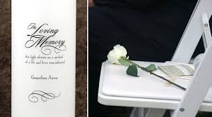 wedding memorials for loved ones tbrb info tbrb info
