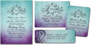 teal wedding invitations purple and teal wedding invitations plumegiant