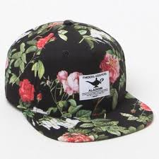 floral snapback neff disney floral snapback hat from pacsun