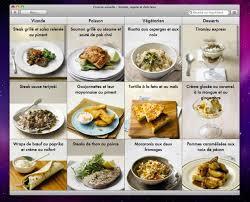 application recettes de cuisine mac app store devonthink simon et cuisine visuelle macgeneration