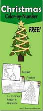 free christmas worksheets color by number what a fun way for
