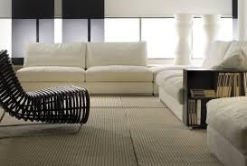 canap amovible canapé contemporain 2 places avec rangement avec revêtement
