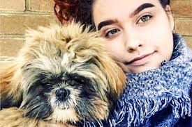 student 18 who posed with dogs for tinder profile pictures
