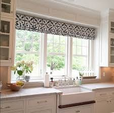 window treatment ideas for kitchen large kitchen window treatments iagitos