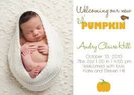 baby announcements 25 adorable fall birth announcements from etsy babble