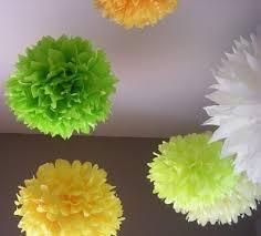 Yellow Pom Pom Flowers - 78 best pom pom decoration images on pinterest crafts ideas and diy