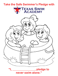 coloring pages water safety perfect water safety coloring pages page swimming 4076