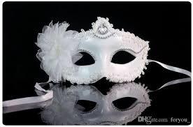 white masquerade masks for women hot sale white women feathered venetian masquerade masks lace
