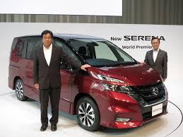 minivan nissan nissan debuts new serena minivan with self driving technology