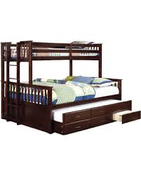 Spring Sales On Shelton Extra Long Twin Over Queen Combo Bunk Bed - Extra long twin bunk bed