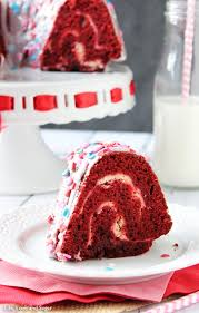 layered red velvet cheesecake bundt cake life love and sugar