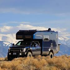survival truck camper xv lts earthroamer u0027s best selling expedition vehicle