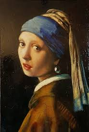 pearl earring painting girl with a pearl earring copy painting shop online on
