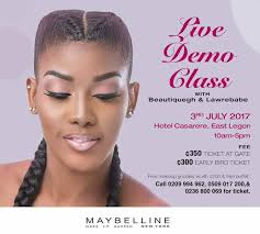 free makeup classes nyc live demo makeup class with lawrebabe and beautique gh at hotel
