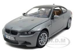 bmw diecast model cars m3 e92 coupe gray 1 24 diecast model car motormax 73347