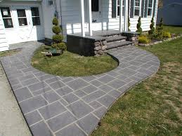 concrete backyard patio ideas home outdoor decoration