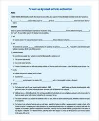 sample employee loan agreements 9 free documents in word pdf