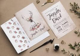 vintage wedding invites stag roses vintage wedding stationery i am nat ltd