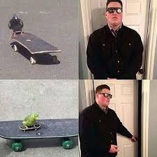 Skateboard Meme - the meme bouncer might be the most ironic meme yet 23 pics