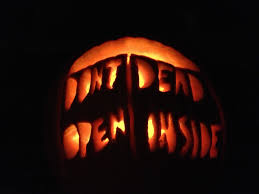the walking dead pumpkin like a boss holidays are a great