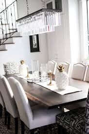 black rustic dining table modern rustic dining room