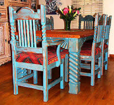 southwestern dining room furniture great southwest dining set sutherland ranch house decor