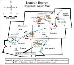 Colorado New Mexico Map by Uranium Watch New Mexico Uranium Mines