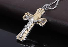 Best Cross - aliexpress com buy god jesus cross pendant gold color s