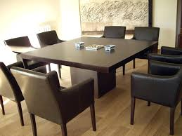 Large Oak Kitchen Table by Dining Table Solid Oak Dining Table And 8 Leather Chairs Dark