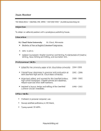 Sample Resume Computer Skills by Skills Resume Template Learnhowtoloseweight Net