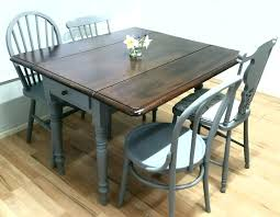 Drop Leaf Table Plans Drop Leaf Round Dining Table And Chairs Room Plans Set Sets Black