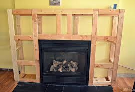 decor fireplace surround plans pleasant fireplace surround build