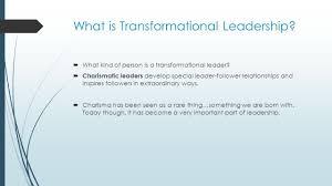 transformational leadership ppt