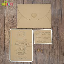 kraft paper wedding invitations best sale laser cut various colors and sizes kraft paper wedding