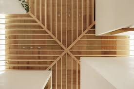 Japanese Ceiling Light Criss Cross Ceiling Beams Interior Design Ideas