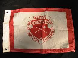 Flag British Columbia Native Brotherhood Of British Columbia Flag Northern Bc Archives