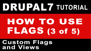 Custom Flags And Banners Drupal 7 Tutorial How To Use Flags Part 3 Of 5 Custom Flags