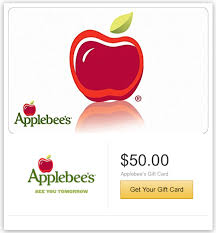 applebee gift card get 10 a 50 or more applebee s gift card with e mail